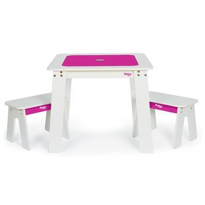 P'kolino Chalk 3 Piece Table & Bench Set
