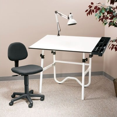 Alvin and Co. Creative Melamine Drafting Table System