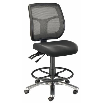 Alvin and Co. Mesh Back Argentum Drafting Chair