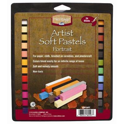 Alvin and Co. Portrait Soft Pastels Set