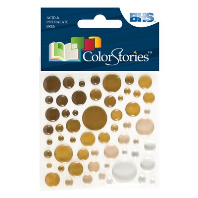 Alvin and Co. Colorstories Epoxy Color Spots Stickers
