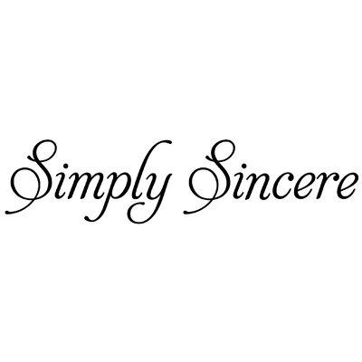 Alvin and Co. Simplysincere Lettering Stencil Set