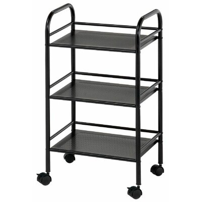 "Alvin and Co. Storage Cart 29.75"" 3 Shelf Shelving Unit"