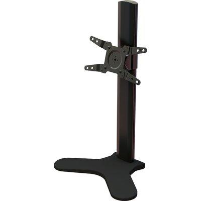 """Single Desktop Tilt Floor Stand Mount for 13"""" - 34"""" Screens Product Photo"""