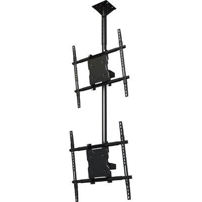 """Crimson AV Dual Screen Tilt Universal Ceiling Mount for 37"""" - 65"""" Screens"""