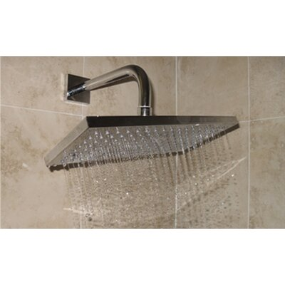 Averse Rectangular Wall or Ceiling Shower Head Product Photo