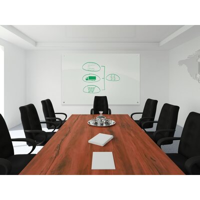 Best-Rite® Enlighten Wall Mounted Glass Board, 2' x 2'