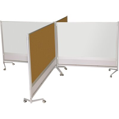 Best-Rite® D.O.C. Partition Free Standing Bulletin Board