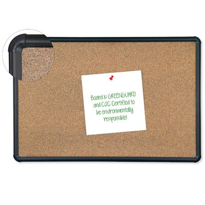 Best-Rite® Splash-Cork Wall Mounted Bulletin Board
