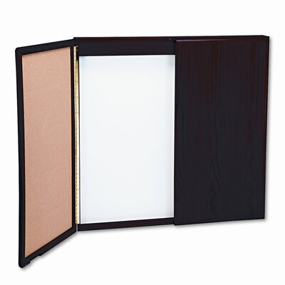 Balt Wood Best-Rite® Conference Enclosed Wall Mounted Whiteboard, 4' x 8'