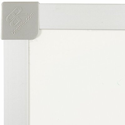 Best-Rite® ABC Trim Magnetic Wall Mounted Whiteboard, 3' x 4'