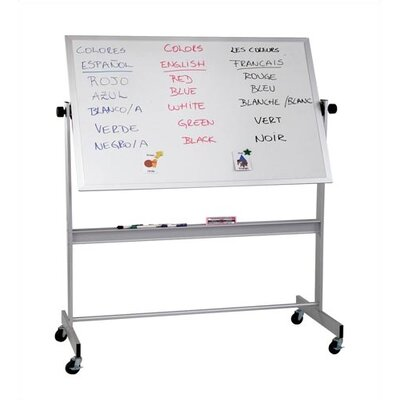Best-Rite® Deluxe Porcelain Magnetic Reversible Whiteboard
