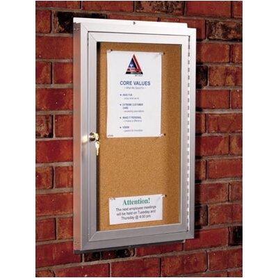 Best-Rite® Standard Wall Mounted Enclosed Bulletin Board