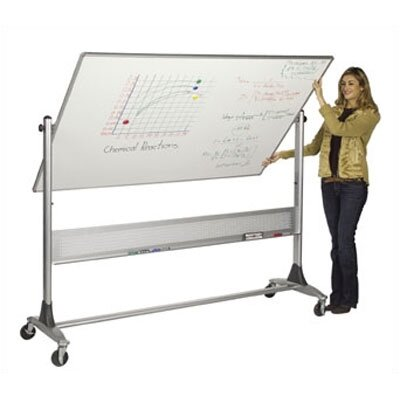 Best-Rite® Free Standing Reversible Whiteboard, 4' x 6'