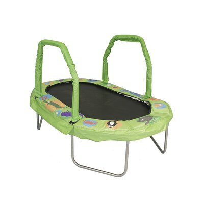 Mini Oval Trampoline with Pad Product Photo