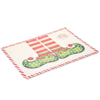 Carnation Home Fashions Elf Shoes Expanded Placemat