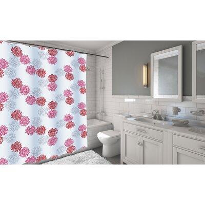 Carnation Home Fashions Emma Shower Curtain