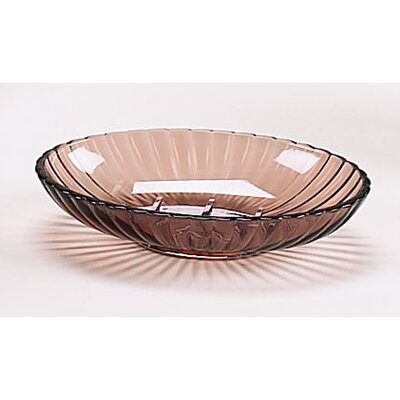 Acrylic Ribbed Soap Dish by Carnation Home Fashions