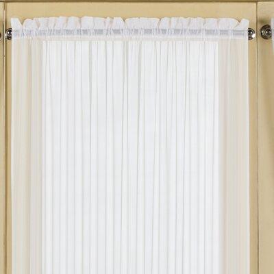 Batiste Full Door Rod Pocket Single Curtain Panel Product Photo