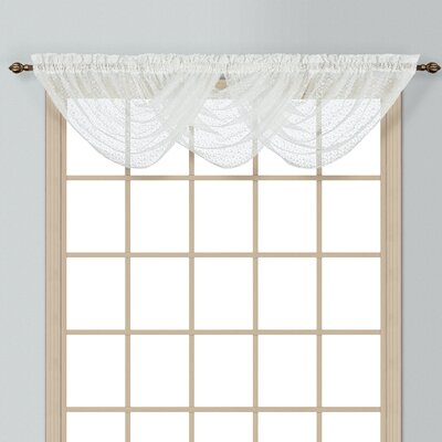 "Charlotte Waterfall 44"" Curtain Valance Product Photo"