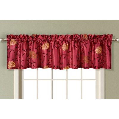 """United Curtain Co. Avalon 54"""" Curtain Valance"""