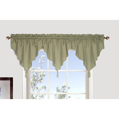 "Sterling Ascot 42"" Curtain Valance (Set of 3) Product Photo"