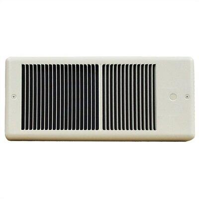 TPI Low Profile 2,000 Watt Wall Insert Electric Fan Heater