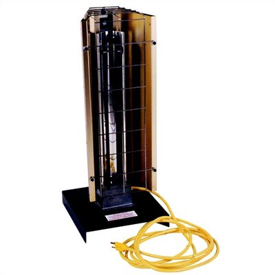 6,143 BTU Portable Electric Infrared Tower Heater by Fostoria