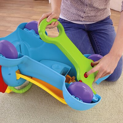 3-in-1 Bounce, Stride & Ride Elephant Wagon Ride-On by Fisher-Price