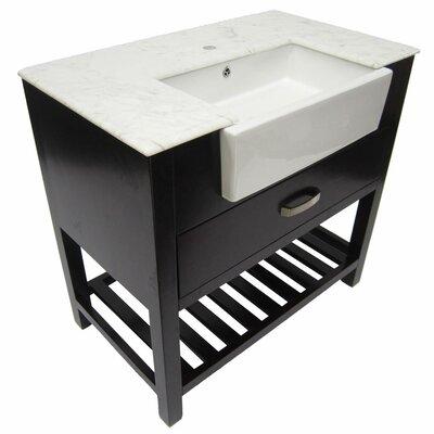 """Alfi Brand 36"""" Single Bathroom Vanity Set"""