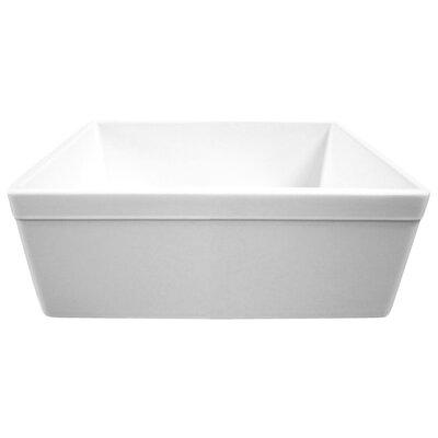 "25.5"" x 17.25"" Single Bowl Farmhouse Kitchen Sink Product Photo"
