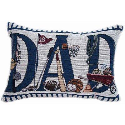 American Mills Dad's Doing Throw Pillow