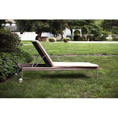 Addison Chaise Lounge with Cushion by CO9 Design