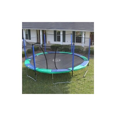 14' Round Trampoline with Enclosure Product Photo