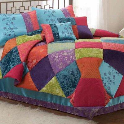 Kashmere Gem Comforter Set by Bed Ink