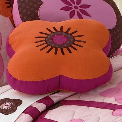 Flowers for Hanna Cotton Throw Pillow by My World
