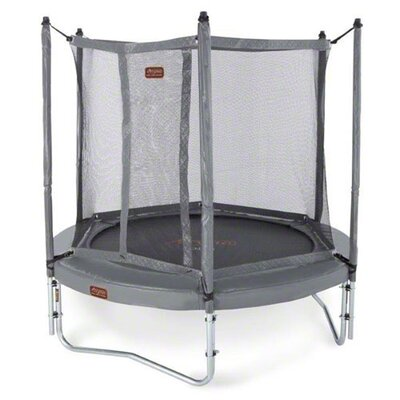 JumpFree Proline 8' Round Trampoline with Safety Enclosure Product Photo