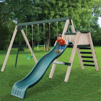 Congo Swing and Monkey 3 Position Swing Set Product Photo