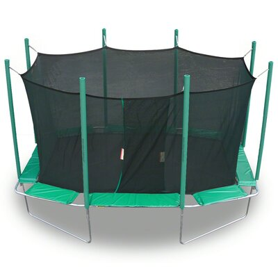 9 x 14 ft. Rectagon Trampoline with Enclosure Product Photo