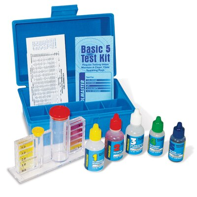 Basic Four Delux Test Kit with Case by Poolmaster