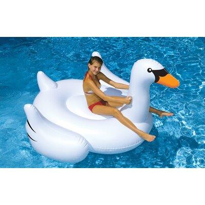 Giant Swan Pool Float by Swimline
