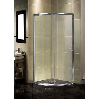 Round Sliding Shower Door Enclosure Product Photo