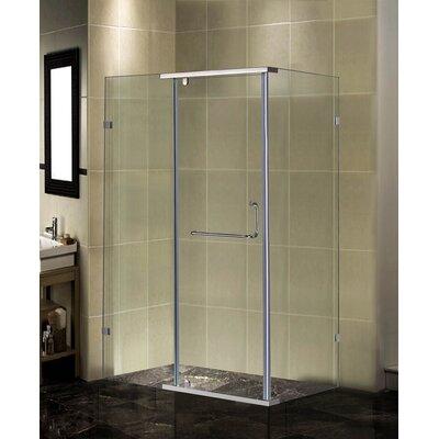 Semi-Frameless Rectangular Shower Enclosure Product Photo