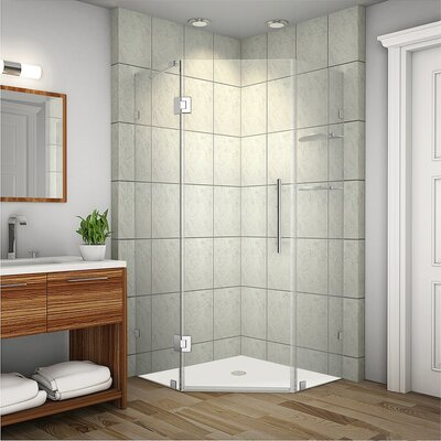Neoscape GS Neo-Angle Door Frameless Shower Enclosure Product Photo