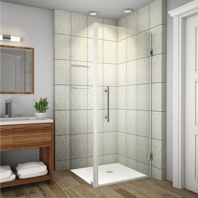 Aquadica GS Swing Door Frameless Shower Enclosure Product Photo