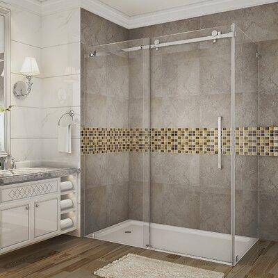"60"" x 33.44"" x 75"" Sliding Shower Door Enclosure Product Photo"