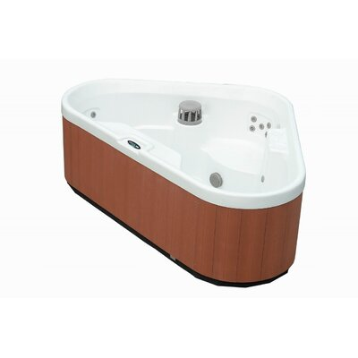 aston 3 person corner 30 jet hot tub spa reviews wayfair