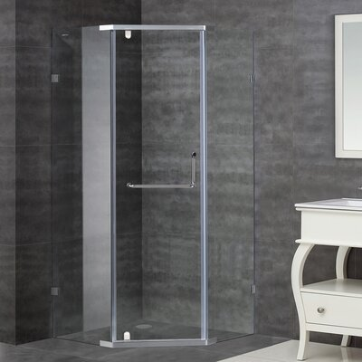 "37"" x 37"" x 75"" Neo-Angle Shower Enclosure Product Photo"