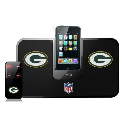 iHip NFL Portable Premium IDock with Remote Control