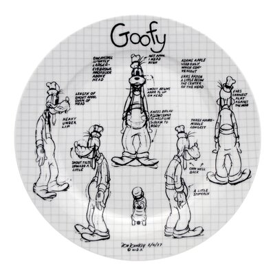 Disney Sketchbook Goofy Dinnerware Collection by R Squared